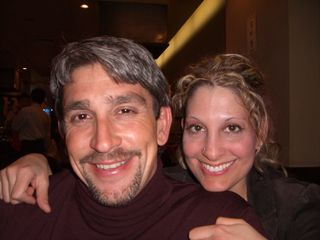 Richard Blanco and Nikki Moustaki