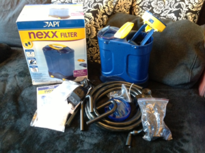 Nexx filter unboxed